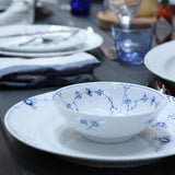 Blue Fluted Plain Cereal Bowl by Royal Copenhagen