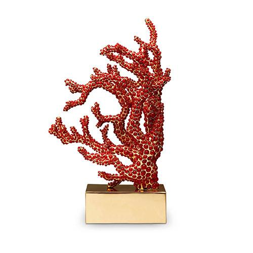 Coral Bookend by L'Objet