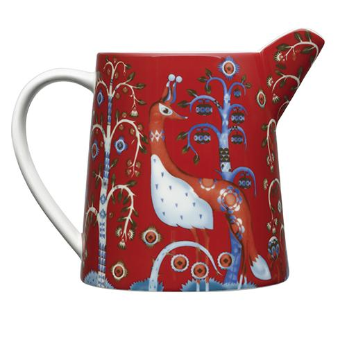 Taika Red Pitcher by Iittala