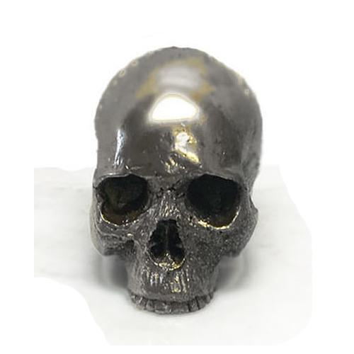 Marble Collection Notre Dame Skull Candle by Lisa Carrier Designs
