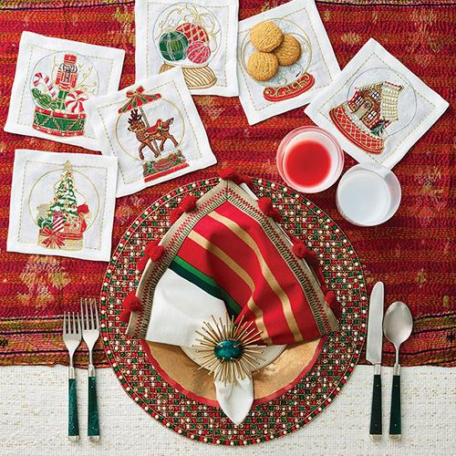 Brilliant Placemat, set of 4 by Kim Seybert