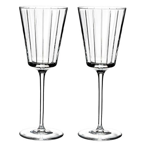 Avenue All Purpose Wine Glasses, Set of 2 by Rogaska 1665