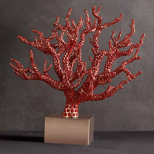 Coral Centerpiece by L'Objet
