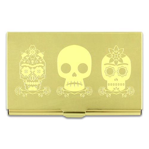 Three Skulls Business Card Case by Frida Kahlo and Acme Studio