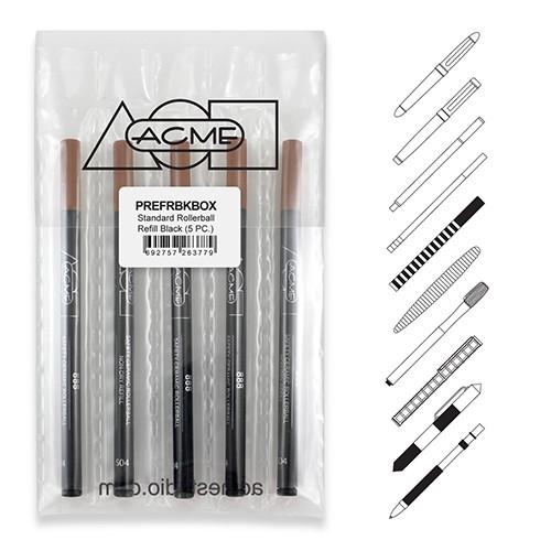 888 Rollerball Refill, Pack of 5 by Acme Studio