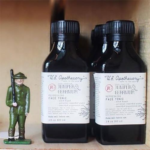 Juniper & Geranium Face Tonic by U.S. Apothecary