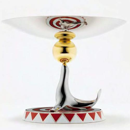 The Seal Cake Stand, Limited Edition by Marcel Wanders for Alessi