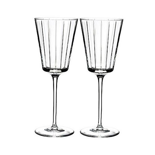 Avenue Red Wine Glasses, Set of 2 by Rogaska 1665
