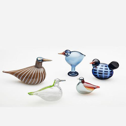 2016 City Birds, Set of 5 with Identical Numbers by Oiva Toikka for Iittala