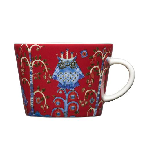 Taika Red Coffee or Tea Cup by Iittala