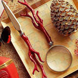 Coral Magnifying Glass by L'Objet