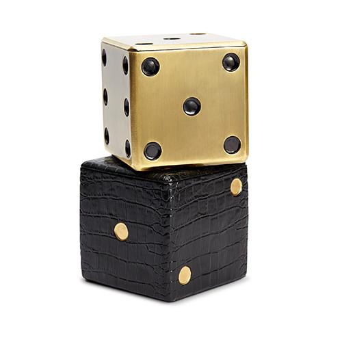 Dice Decorative Box by L'Objet