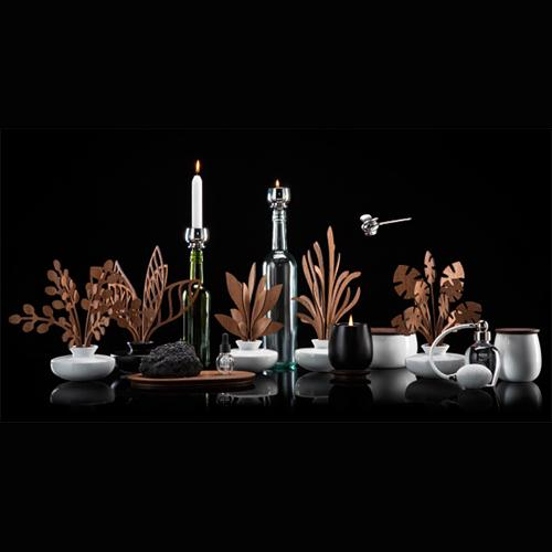 The Five Seasons: Lily Incense Holder by Marcel Wanders for Alessi