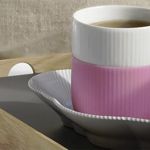 Fluted Contrast Mug by Royal Copenhagen