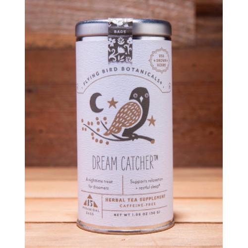 Dream Catcher, Tin of 15 Sachets by Flying Bird Botanicals