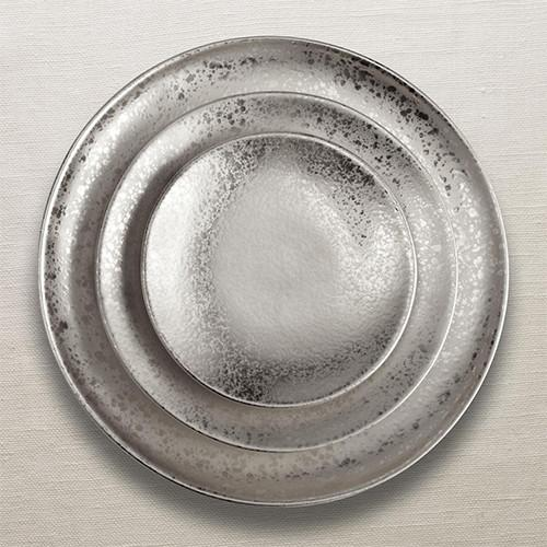Alchimie Platinum Bread & Butter Plate by L'Objet