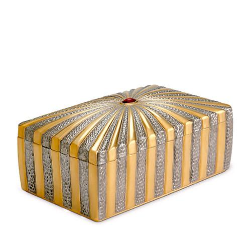 Voyage d'Or Rectangular Box by L'Objet