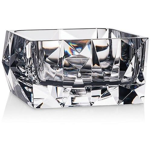 "Crystallization 8"" Square Bowl by Rogaska 1665"