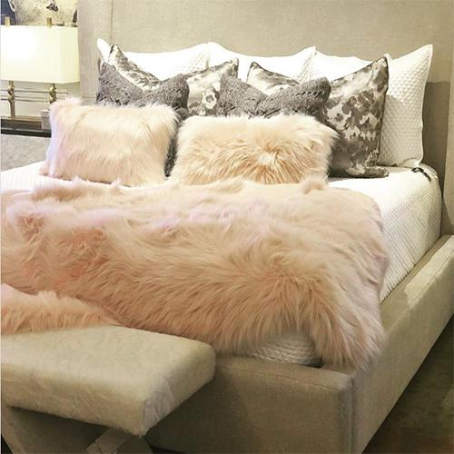 Faux Fur Rugs by Evelyne Prelonge Paris