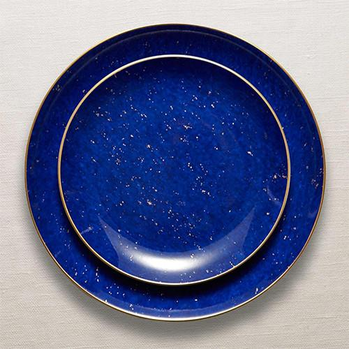 Lapis Canape Plates, Set of 4 by L'Objet