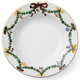 "Star Fluted Christmas Rim Soup Plate, 8.25"" by Royal Copenhagen"