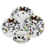 Butterfly Parade Dessert Plate by Christian Lacroix for Vista Alegre