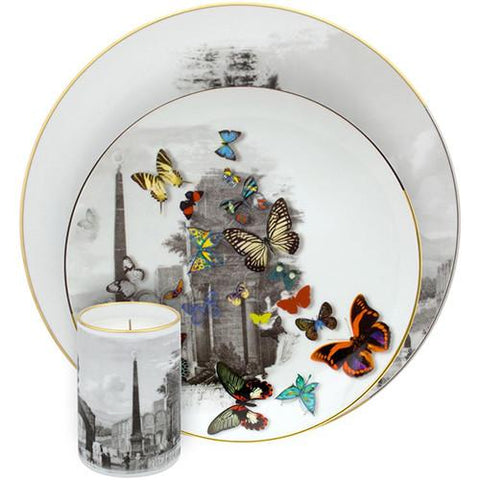 Forum Tower Dinner Plate by Christian Lacroix for Vista Alegre