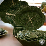 Cabbage Cake Stand by Bordallo Pinheiro