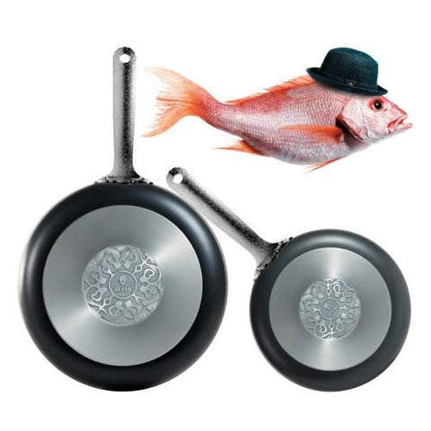 "Dressed 9.5"" Non-Stick Frying Pan Offer by Marcel Wanders for Alessi"