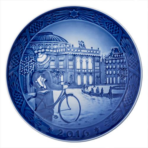 2016 Christmas Plate by Royal Copenhagen