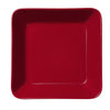 Teema Red Square Plate by Iittala