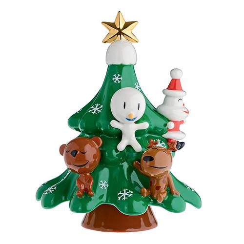Xmas Friends Tree Figurine by Alessi
