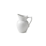 White Fluted Half Lace Creamer by Royal Copenhagen