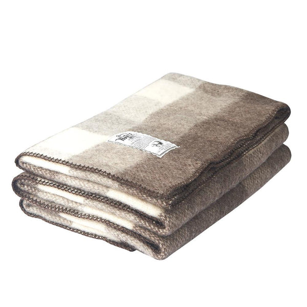 "Suffolk Buffalo 60"" x 70"" Wool Blanket by Woolrich"