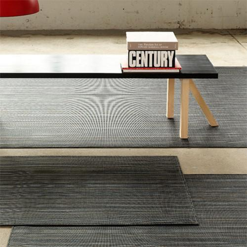 Chilewich: Multi Stripe Woven Vinyl Floor Mats