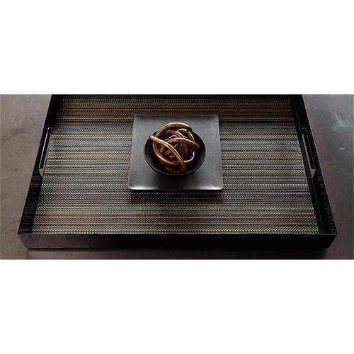 Chilewich: Multi Stripe Woven Vinyl Placemats & Runners