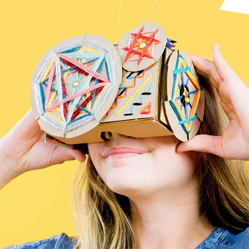 DIY Stitch & Style Virtual Reality Viewer by Seedling