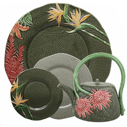 Tropical Dinner Plate, 11.3