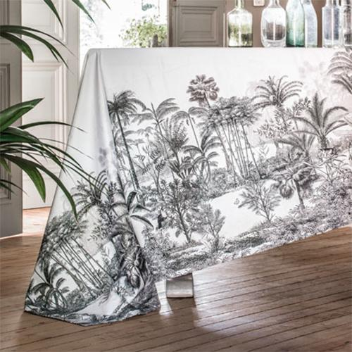 Amazone Cotton Sateen Table Cloth by Alexandre Turpault