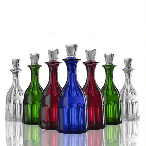 Aquarama Acrylic Bottle or Decanter, 1 Quart by Marioluca Giusti