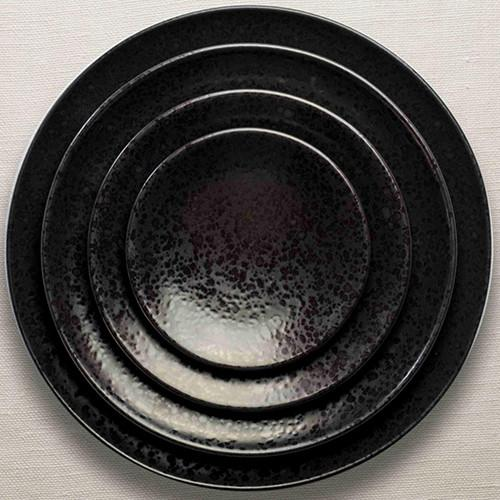 Alchimie Black Dinner Plate by L'Objet