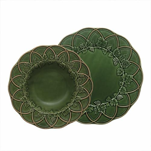 Hunting Salad or Dessert Plate by Bordallo Pinheiro