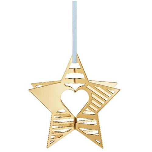 2019 Star Christmas Holiday Ornament by Sanne Lund Traberg for Georg Jensen