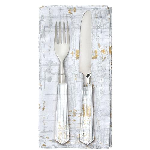 Faceted 5-Piece Place Setting by Kim Seybert