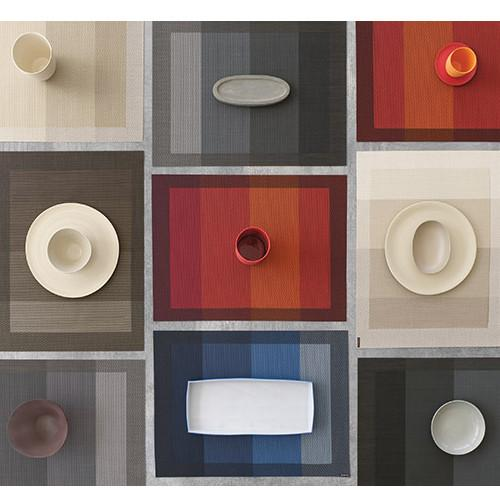 Chilewich: Color Tempo Woven Vinyl Placemats