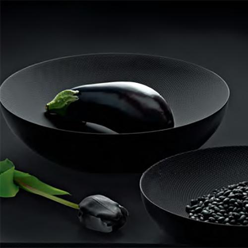 Double Walled Bowl, Red or Black by Donato D'Urbino & Paolo Lomazzi for Alessi
