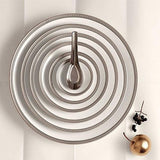 Soie Tressee Platinum Charger Plate by L'Objet