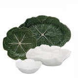 "Cabbage Bowl, 6"" by Bordallo Pinheiro"