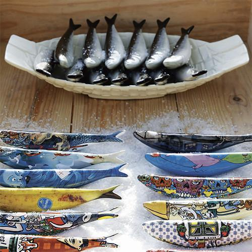 New York Sardine by Craig Wheatley for Bordallo Pinheiro