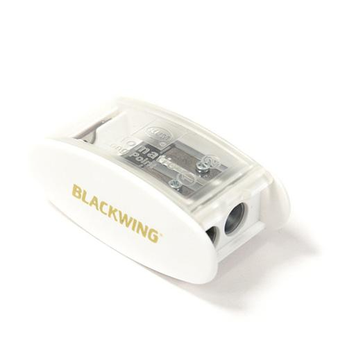 Kum Automatic Brake Long Point 2 Step Pencil Sharpener, White by Blackwing